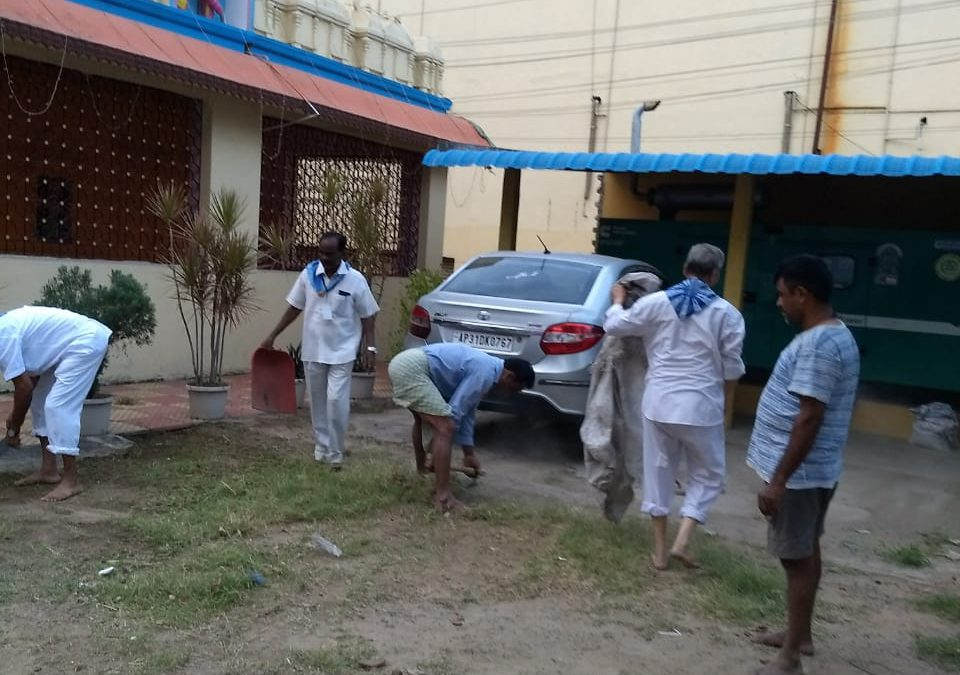 Gajuwaka samithi of Visakhapatnam district (Andhra Pradesh) does Seva