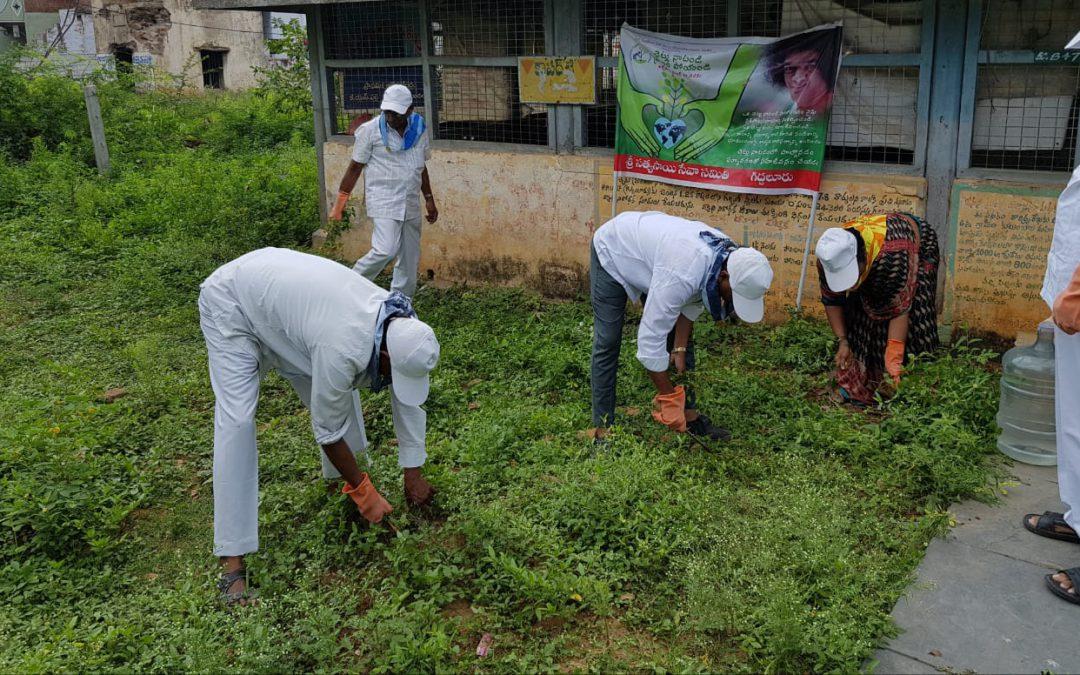 Giddaluru samithi of Prakasam district (Andhra Pradesh) does Seva