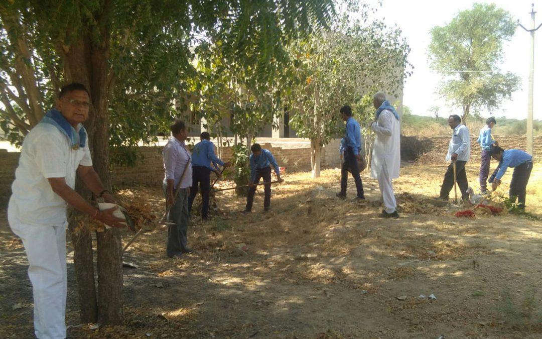 Bikaner Main samithi of Bikaner district (Rajasthan) does Seva