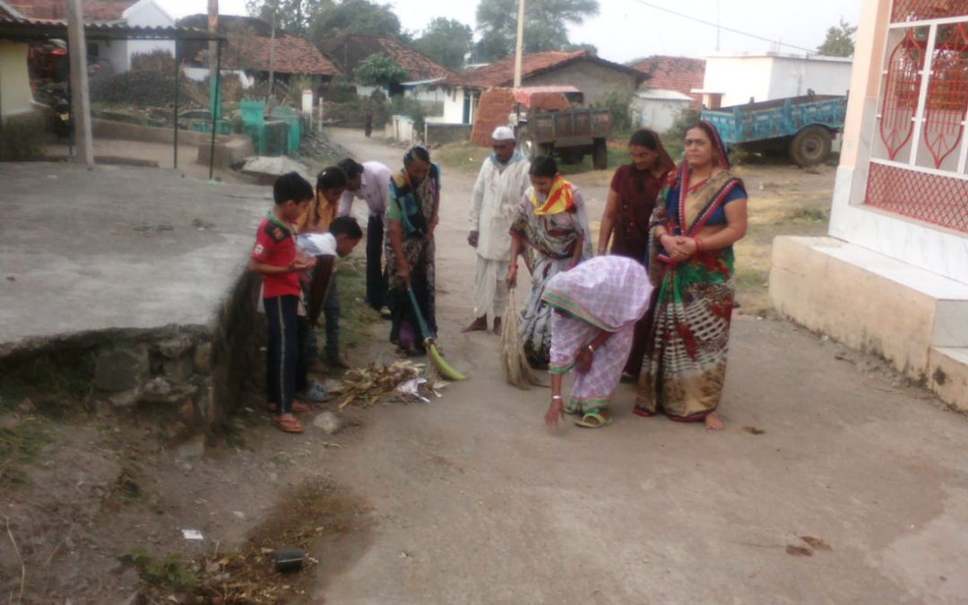 BELGAON samithi of *CHHINDWARA district (Madhya Pradesh) does Seva
