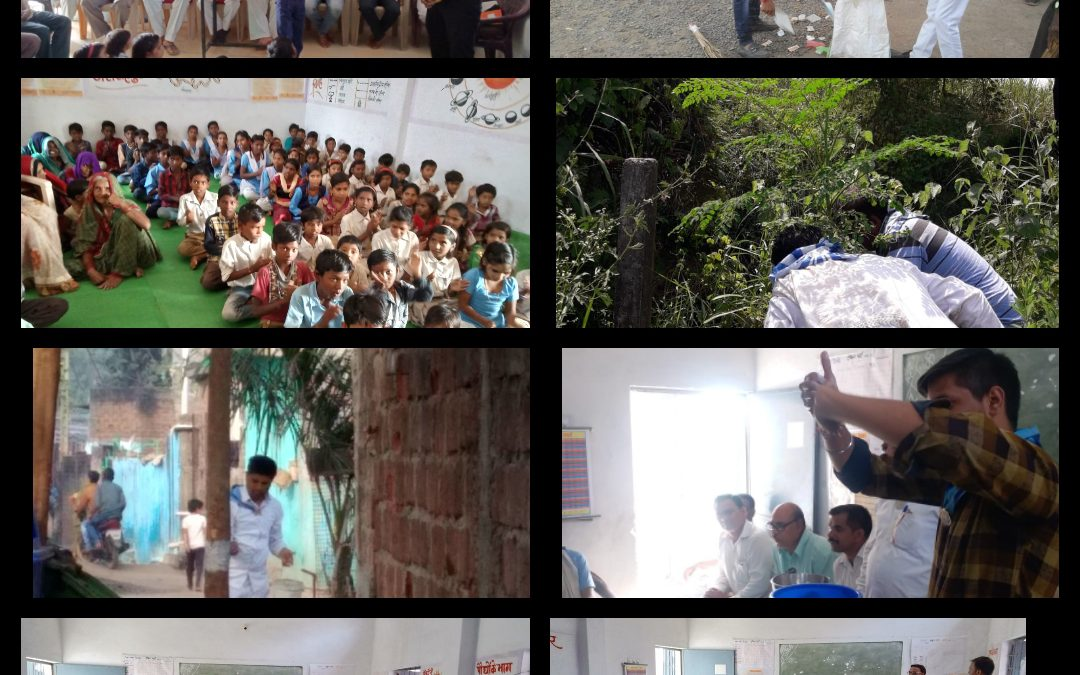 *KARELI samithi of *NARSIMHPUR district (Madhya Pradesh) does Seva
