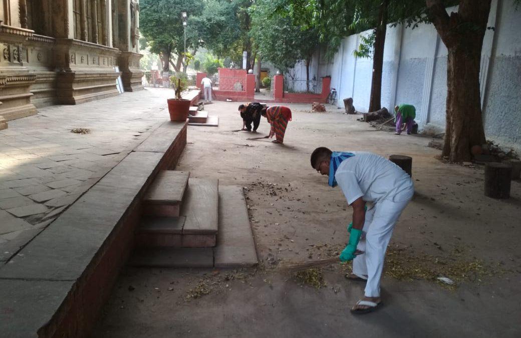 *GWALIOR samithi of *GWALIOR district (Madhya Pradesh) does Seva