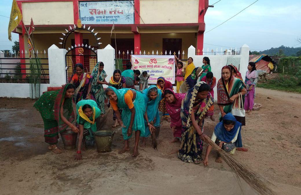 *BALAGHAT samithi of *BALAGHAT district (Madhya Pradesh) does Seva
