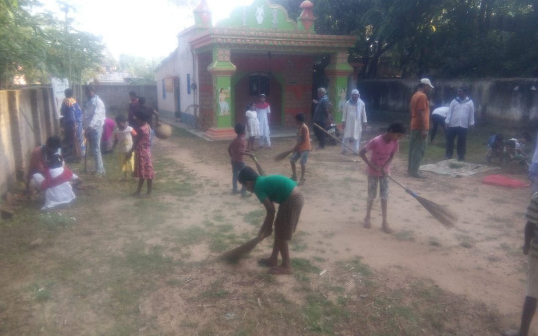 JHARGRAM samithi of MIDNAPORE(WEST) district (West Bengal) does Seva