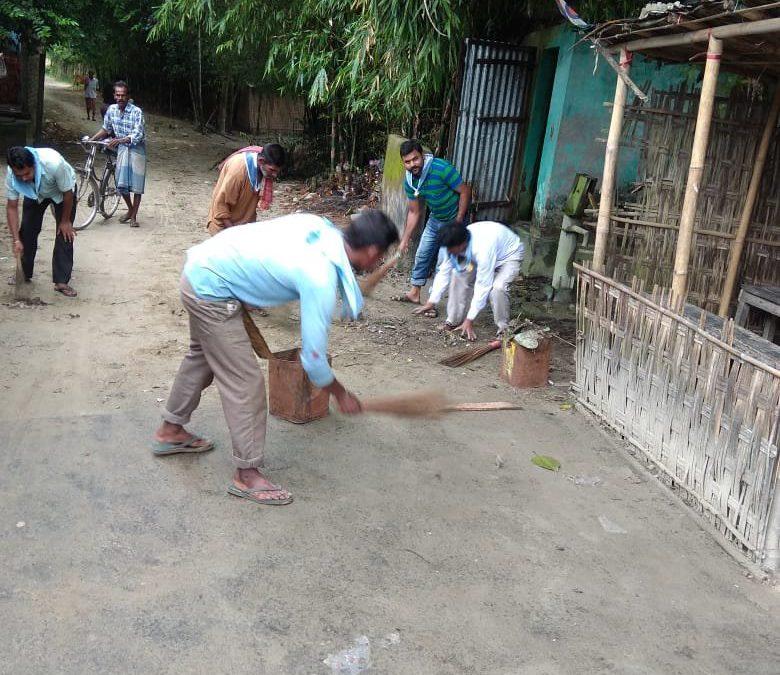COOCHEBEHAR SADAR samithi of COOCHBEHAR district (West Bengal) does Seva