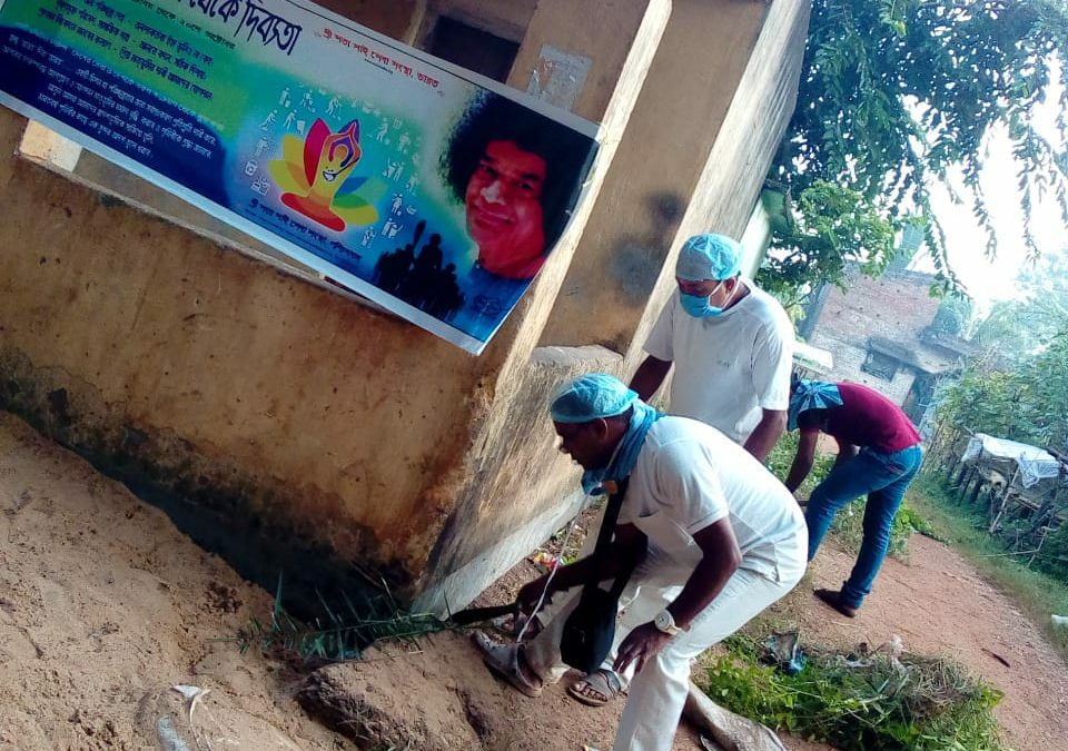 MEDINIPUR samithi of MIDNAPORE(WEST) district (West Bengal) does Seva