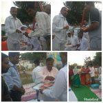 *SATNA samithi of *SATNA district (Madhya Pradesh) does Seva