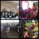 *BHIND samithi of *BHIND district (Madhya Pradesh) does Seva