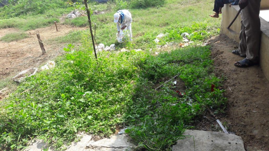 Hanuman Junction samithi of Krishna district (Andhra Pradesh) does Seva