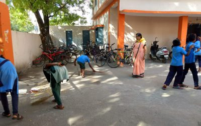 Nehru Nagar samithi of Kurnool district (Andhra Pradesh) does Seva