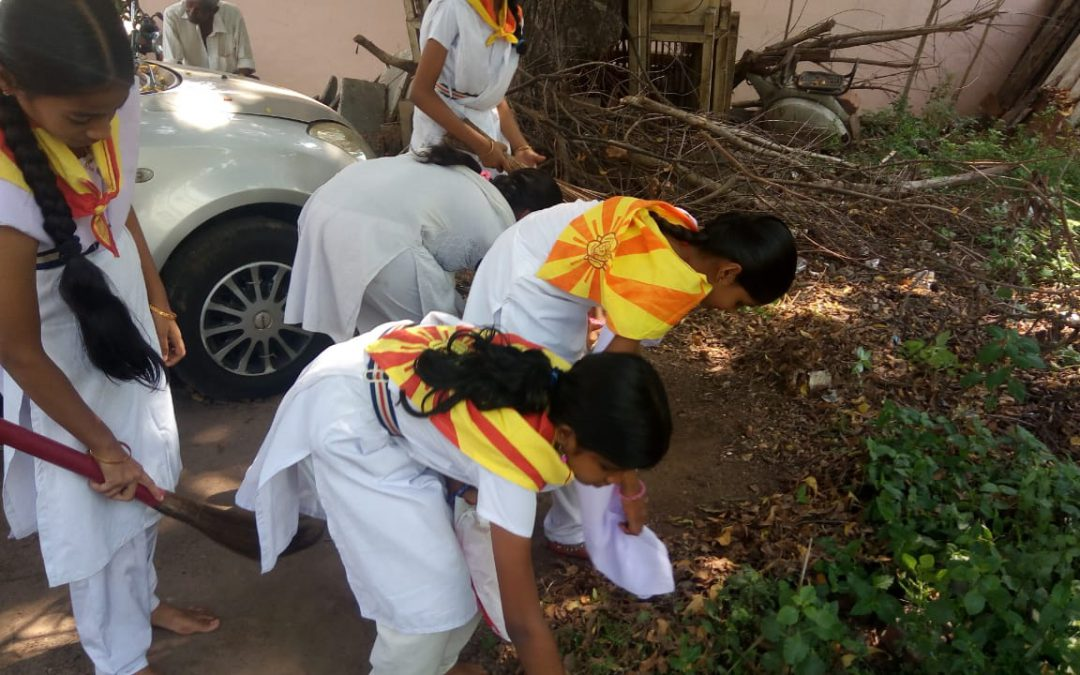 Sitarampuram samithi of Krishna district (Andhra Pradesh) does Seva