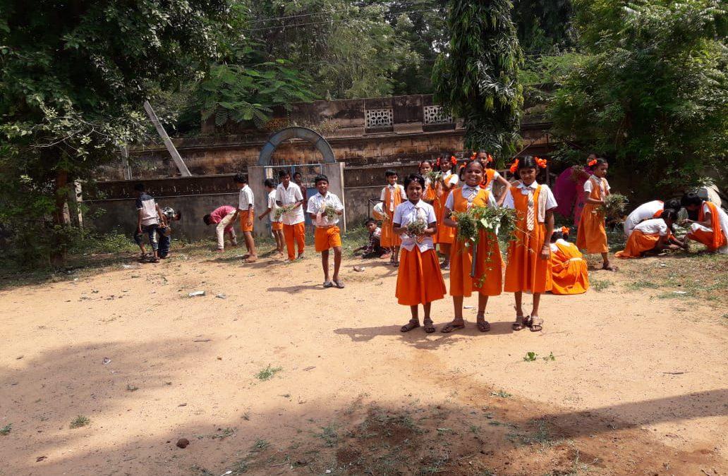 Nuzividu samithi of Krishna district (Andhra Pradesh) does Seva