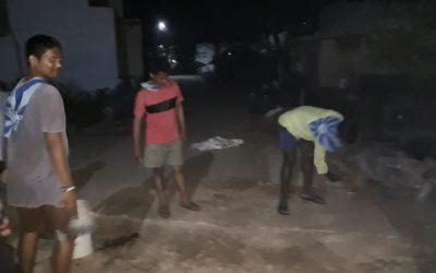 Paradi samithi of Vizianagaram district (Andhra Pradesh) does Seva