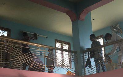 Rammurthy Nagar samithi of Nellore district (Andhra Pradesh) does Seva