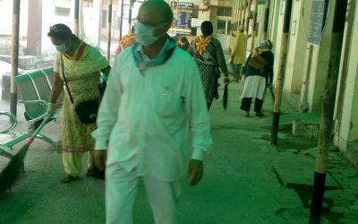 *Haridwar samithi of *Haridwar district (Uttara Khand) does Seva