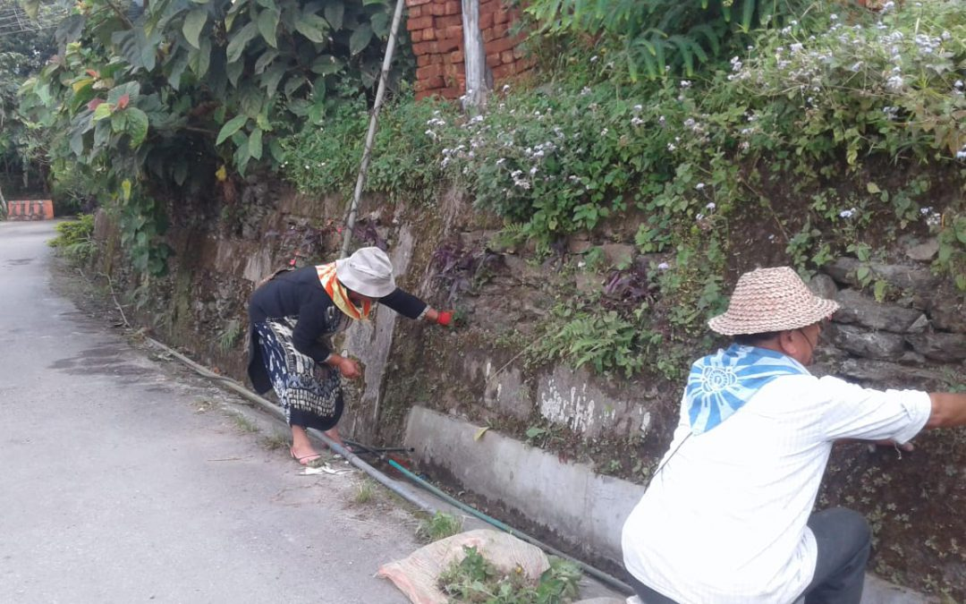 SITTONG samithi of DARJEELING(SOUTH) district (West Bengal) does Seva