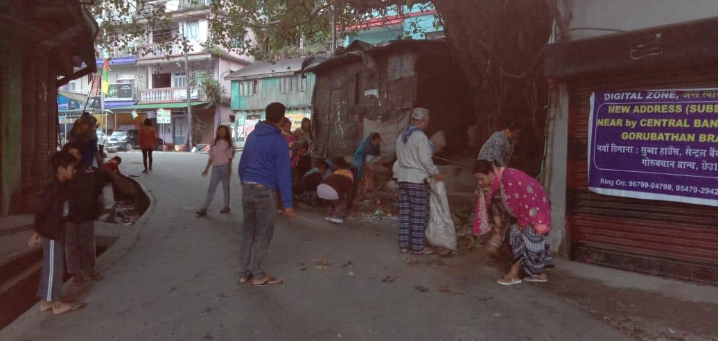 GURUBATHAN samithi of DARJEELING(SOUTH) district (West Bengal) does Seva