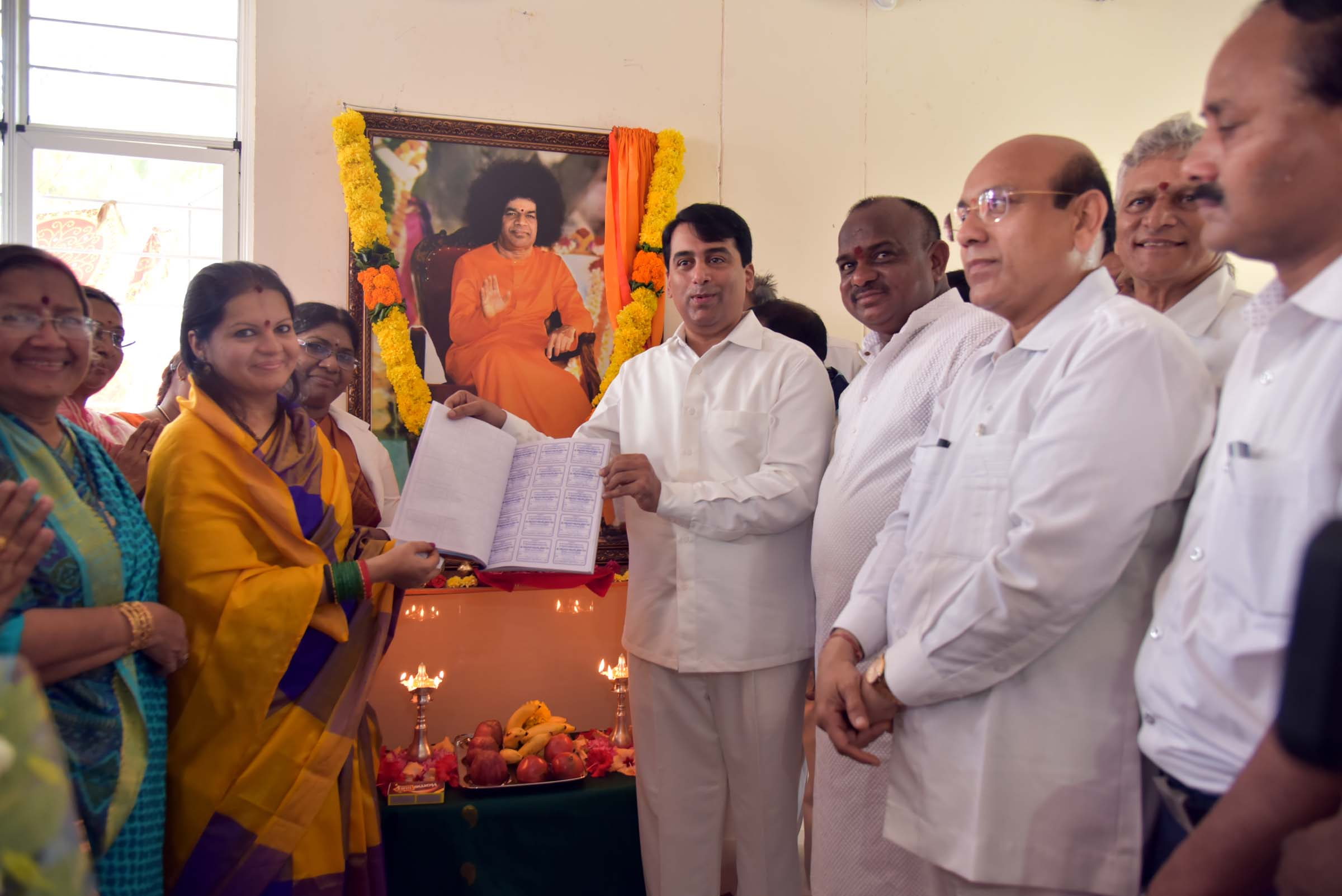 Inauguration of Nithya Anna Prasada Seva Kendram for Pregnant Mahilas ~ SSSSO Vizag District, Andhra Pradesh, India