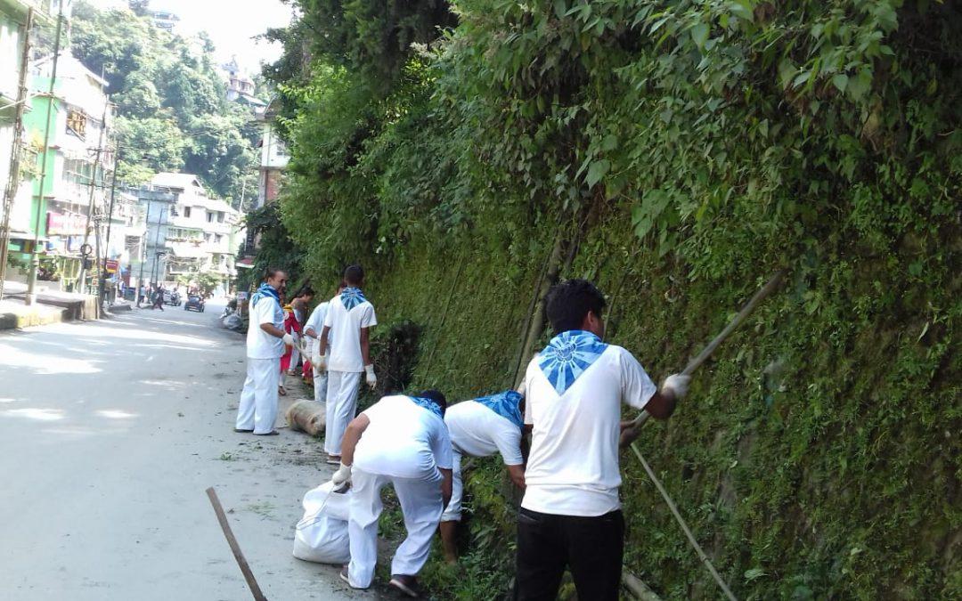 Namchi samithi of SOUTH district (Sikkim) does Seva