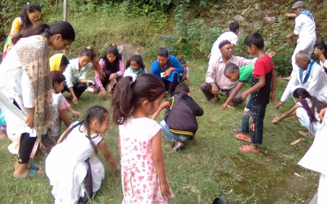 Daramding samithi of SOUTH district (Sikkim) does Seva