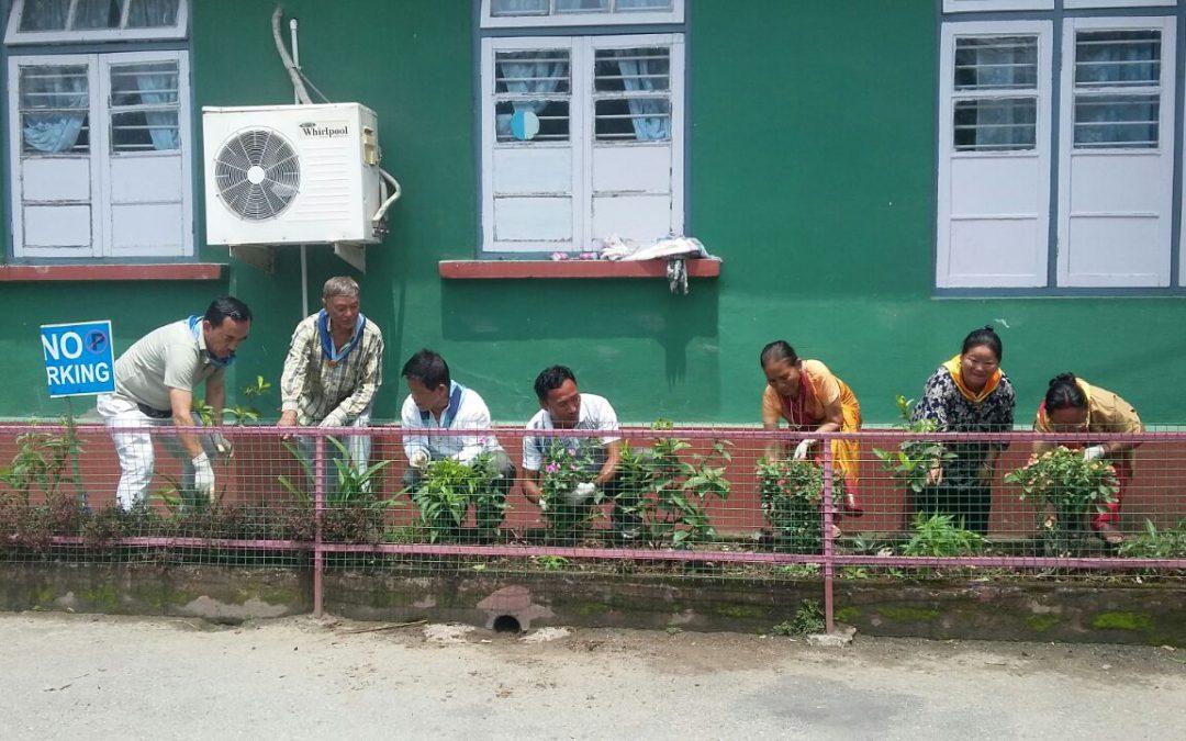 Jorethang samithi of SOUTH district (Sikkim) does Seva