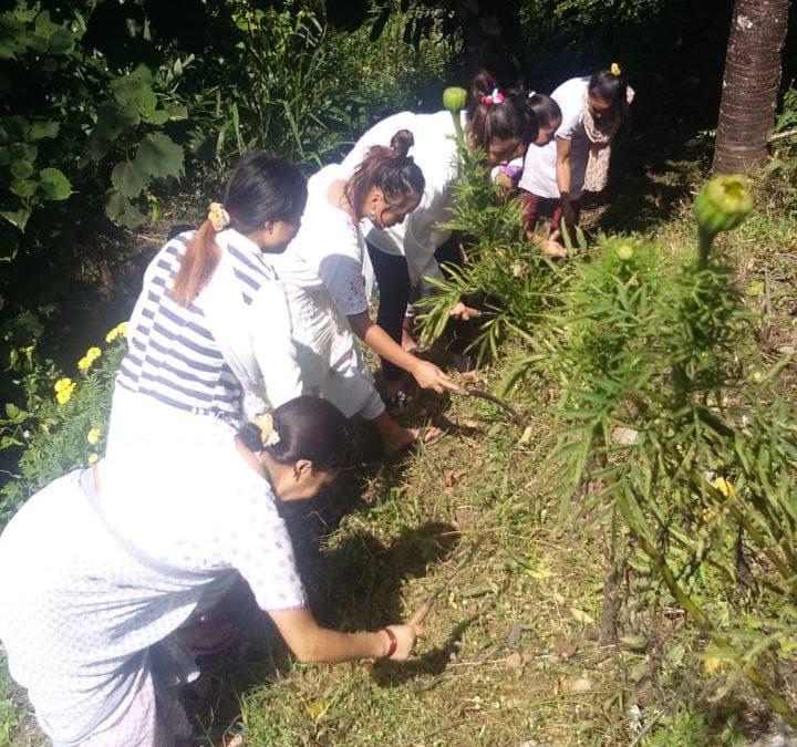 Ravongla samithi of WEST district (Sikkim) does Seva