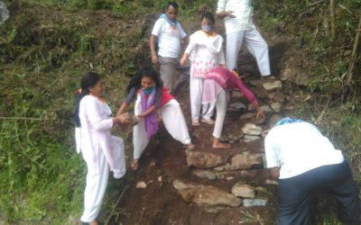 Lingchom samithi of WEST district (Sikkim) does Seva