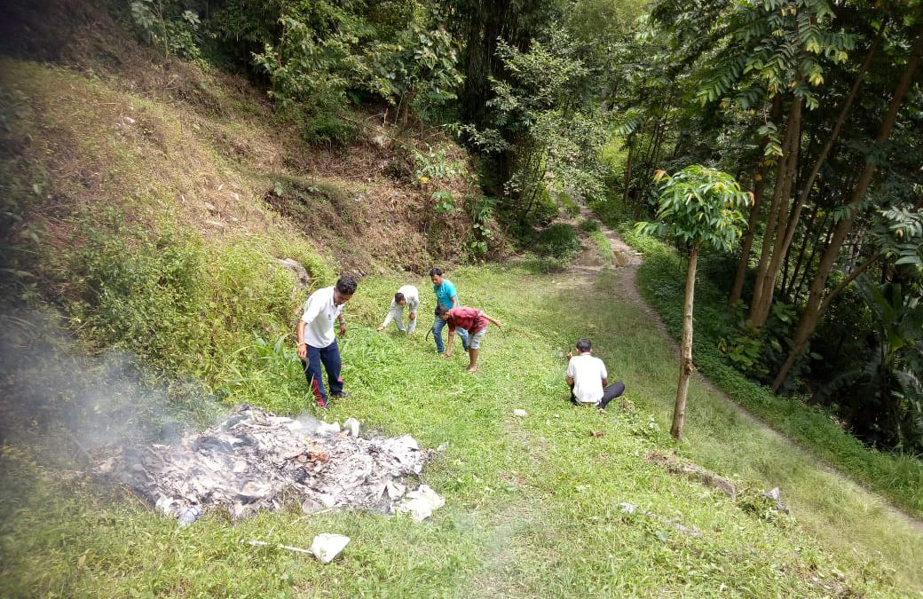 Rongli  samithi of EAST district (Sikkim) does Seva