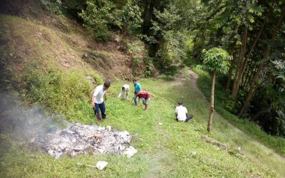 Rongli  samithi of EAST district (Sikkim) does Seva