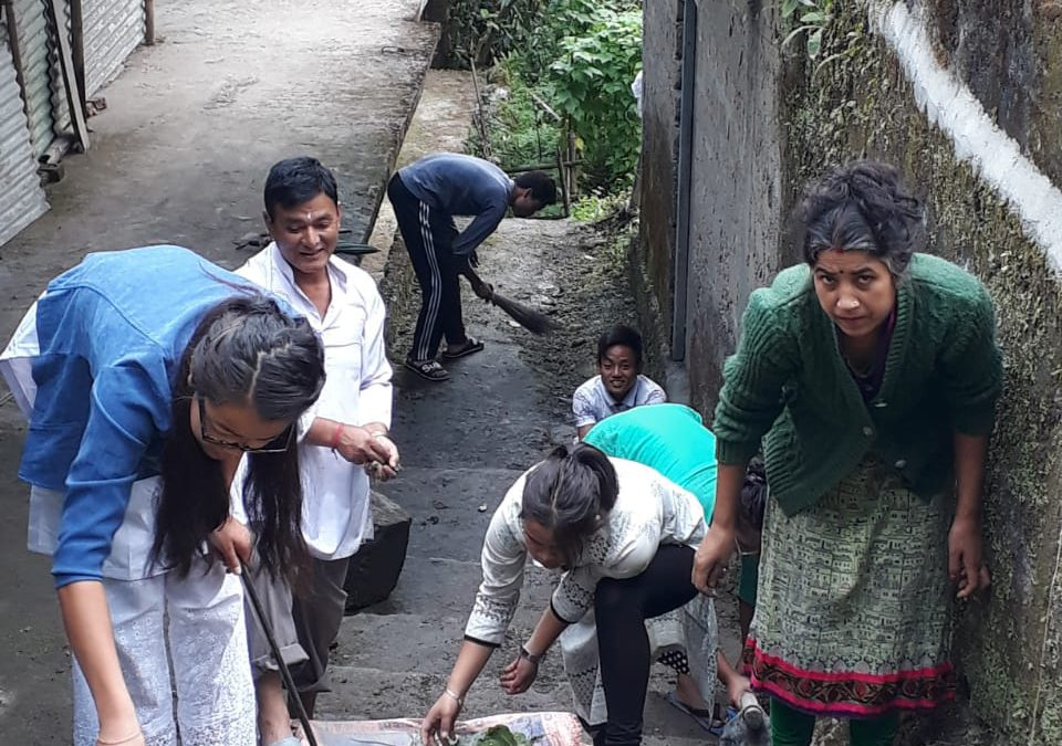 Hee-Yangthang samithi of WEST district (Sikkim) does Seva
