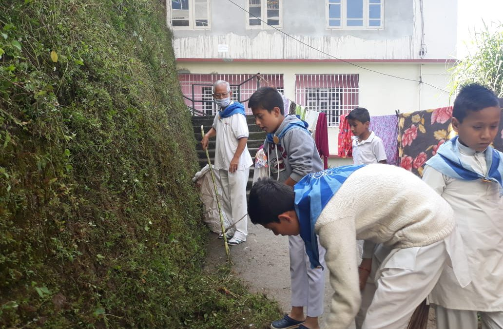 Deorali samithi of GANGTOK(NORTH) district (Sikkim) does Seva
