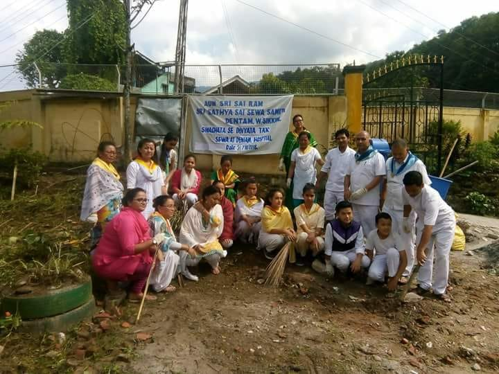 Geyzing samithi of WEST district (Sikkim) does Seva