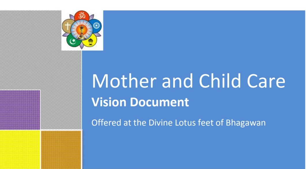Mother and Child Care Vision Document-SSSSO-India