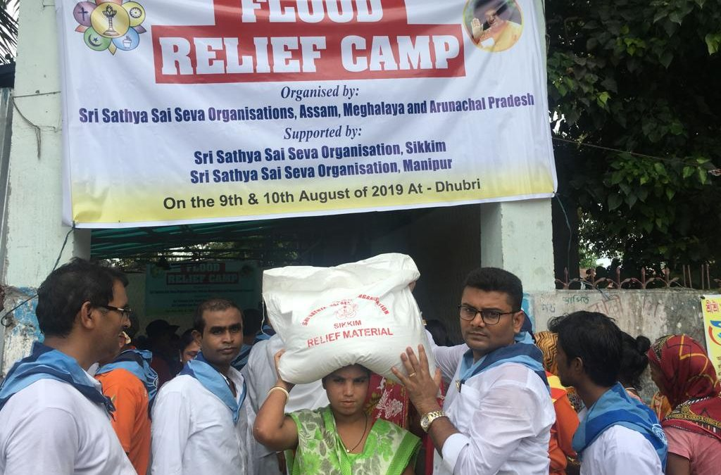 Flood Relief Camp-9th -10th Aug 2019- Assam