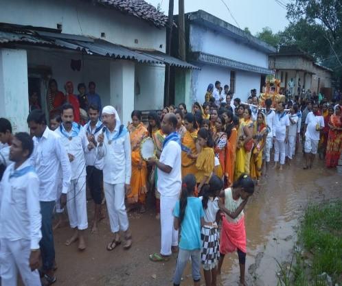 24 x 3 Days Village Program at Jaisakkara & Jongra in Chhattisgarh-April & Sept 2019