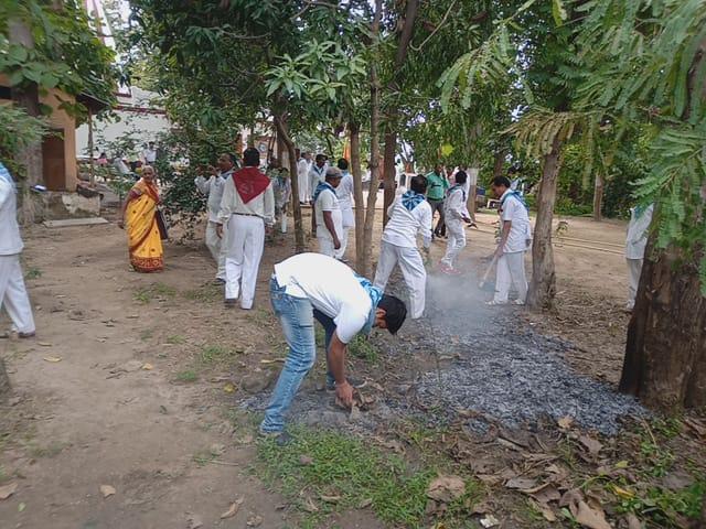 GODEGAON samithi of *BALAGHAT 2 district (Madhya Pradesh) does Seva
