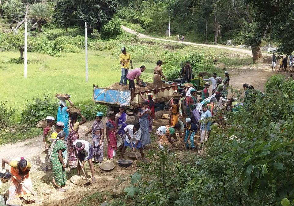 Hukumpet samithi of Paderu district (Andhra Pradesh) does Seva