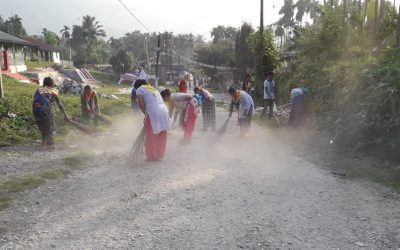 * CENTRAL DOARS samithi of JALPAIGURI district (West Bengal) does Seva