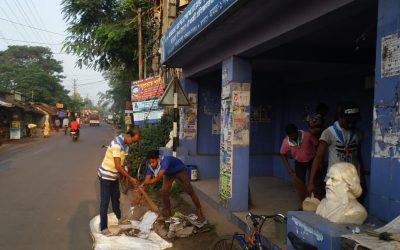 Sirajbati samithi of HOWRAH district (West Bengal) does Seva