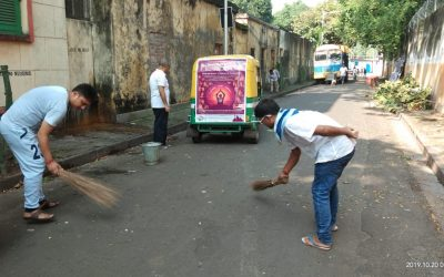 BURRABAZAR samithi of KOLKATA district (West Bengal) does Seva