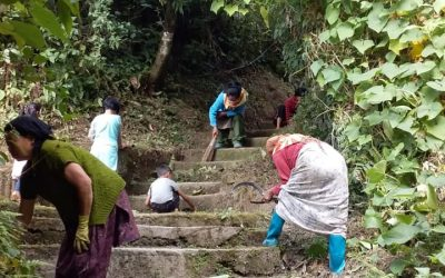 MARGARET'S HOPE samithi of DARJEELING(SOUTH) district (West Bengal) does Seva