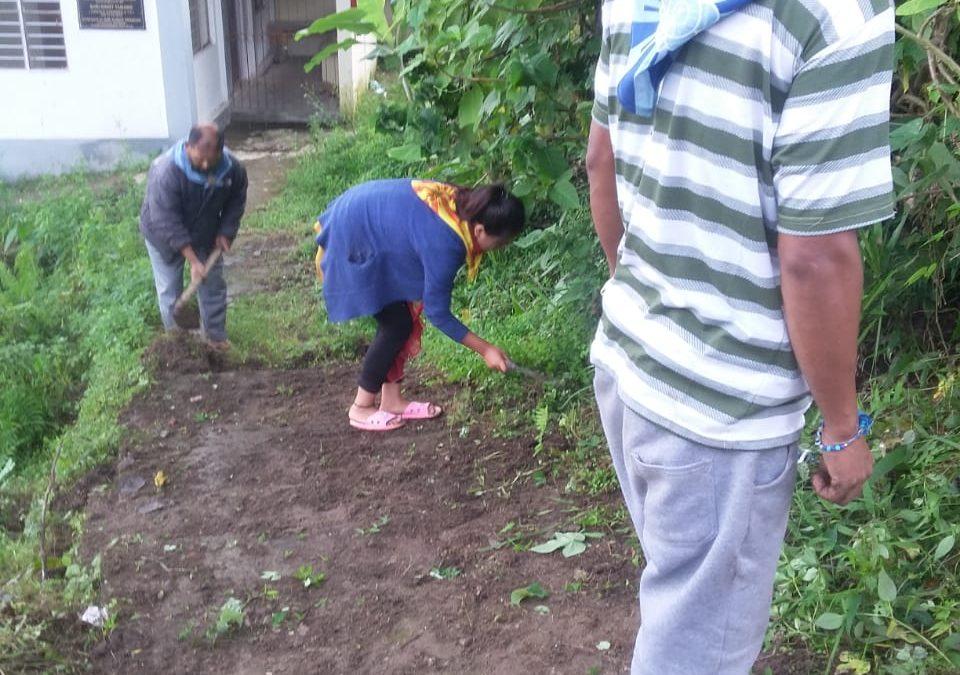 TAKDAH DABAIPANI samithi of DARJEELING(NORTH) district (West Bengal) does Seva