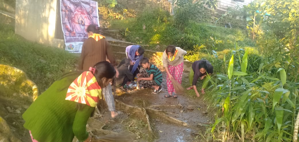 MAMRING samithi of DARJEELING(SOUTH) district (West Bengal) does Seva
