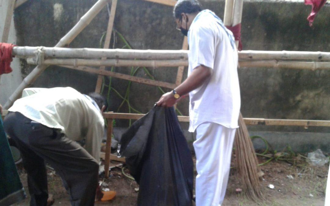 DHAKURIA samithi of KOLKATA district (West Bengal) does Seva
