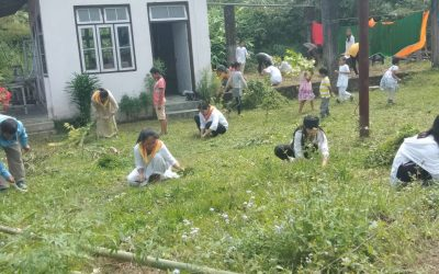 SAMALBONG samithi of KALIMPONG district (West Bengal) does Seva
