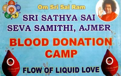 Blood Donation Camp at Ajmer-Rajasthan-Nov 2019